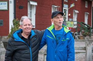 Det började som ett uppdrag. Nu är Conny Ekström och Tommy Jonsson vänner.