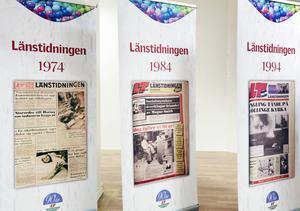 Besökare kommer att få se exempel på förstasidornas utformning genom åren som gått i tidningens historia.