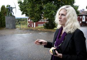 Rektor Sofie Wiklund räknar med att det inom några veckor står klart till vilka lokaler i Borlänge som folkhögskoleverksamheten flyttar.