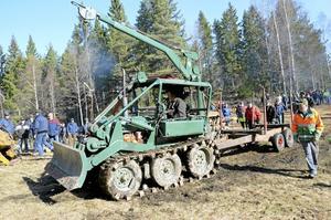 Lite lera får man räkna med när man har med skogsmaskiner att göra.