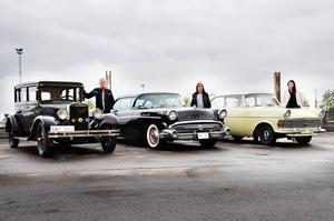 Tre generationer med ett gemensamt intresse – bilar.