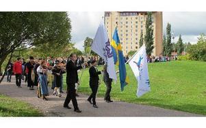 Närmare 2 000 nya studenter började på Högskolans campus i går. Sammanlagt är det totalt 12 000 högskolestudenter i Dalarna.     FOTO: ILSE VORNANEN