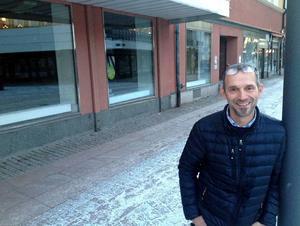 Mikael Hartmeier, Diös, tycker att det är roligt att Borlänge kommun väljer att flytta in i Diös lokaler.