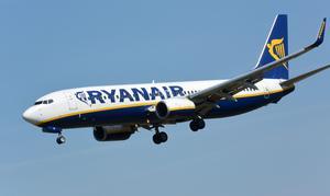 Det är inte första gången Ryanair hamnar i blåsväder. Foto: Johan Nilsson/TT