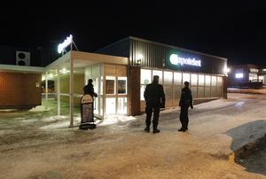 Rån mot apoteket i Djurås.