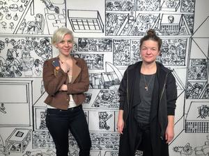 Johanna Hästö och  Karin Edvall har gjort en djupdykning i 4 600 av Kaj Franklins teckningar. Det blev både en bok och en utställning.