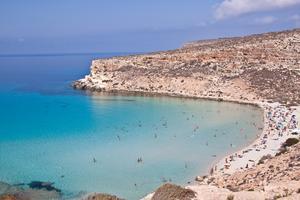 Rabbit Beach på Sicilien har utsetts till världens bästa.