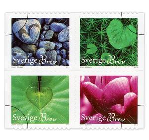 Populärast i länet. Under första halvåret av 2013 såldes nästan 700 000 exemplar av frimärket Hjärtat i naturen.
