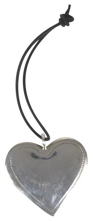 Hjärtesak.Metalliskt modernt hjärta från Day Home Birger et Mikkelsen, 150 kronor på Store. Foto:Day home Borgeret Mikkelsen