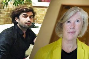Ramin Sherzai kidnappades och mördades. Det är Tora Holst, åklagare vid Internationella åklagarkammaren, som leder förundersökningen.