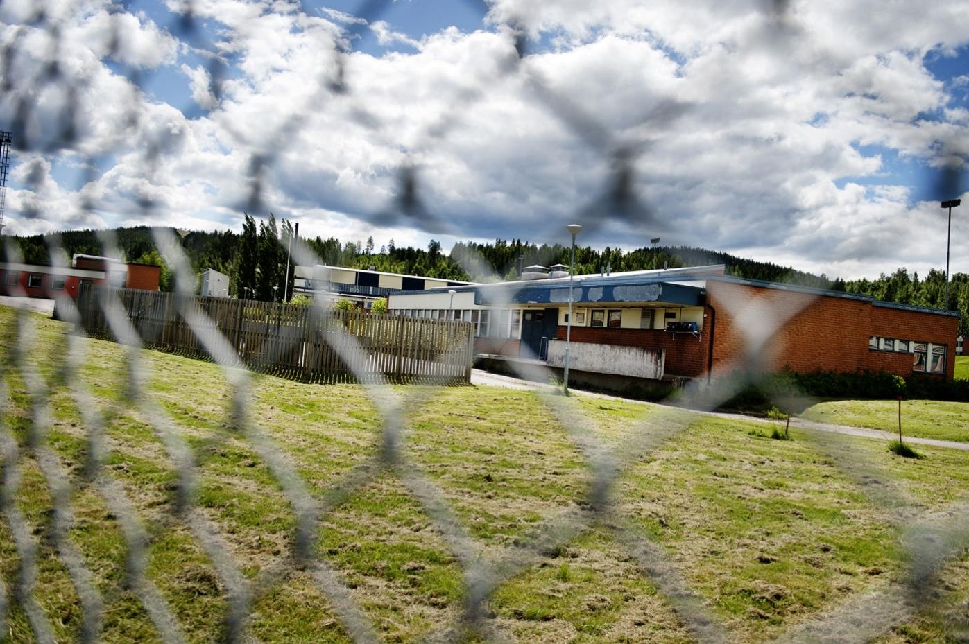 Norskt asylboende brann ner
