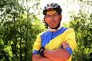 Harry Bergdahl, Vätternveteran, klarade årets runda under 11 timmar.
