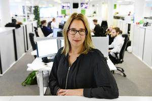 ST:s chefredaktör och ansvarige utgivare, Karin Näslund.