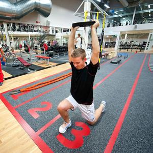 Det blev stora öppna ytor, och gymmet är fortfarande trångt, skriver signaturen Lyssna på oss som tränar! Personen på bilden har inget med insändaren att göra.
