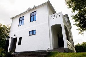 Villan byggdes 1908 av Gustaf Ersson. 102 år senare får byggnaden ett nytt användningsområde. Foto:Jonatan Svedgård