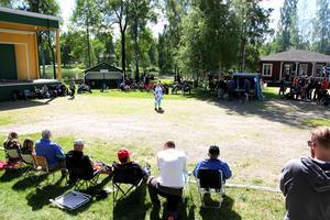 Den årliga hundutställningen i Alfta lockade många besökare