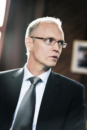 Anders Gustafson har lagt kursen mot en arena i gamla SJ-området.