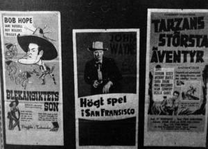 I nästan 50 år fanns det bio i Föreningslokalen. Fem dagar i veckan var det föreställningar, vanligen med stor publik.