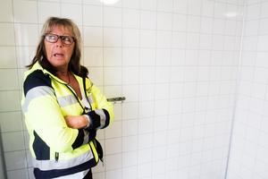 Karina Nylander, kommunens ansvariga för växthusen.