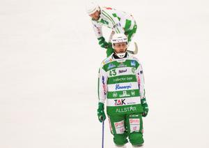 Simon Folkesson, högerhalv i VSK Bandy.