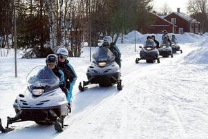 Det är i vinterturismens Jämtland som konflikterna mellan buskörare och markägare är störst.
