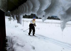 I fjol blev det ungefär 25 mil på skidor för Arild Wiklanders del. Om vi får en fin vinter i år blir det nog ungefär samma, säger 83-åringen som tog initiativet till Midälvaskidan, motionsserien som startade för 20 år sen.