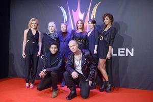 Startfältet i den första deltävlingen i Melodifestivalen 2014.Foto: Janerik Henriksson/TT