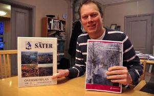 """Säters kommun växte med 78 personer under årets första nio månader. """"Tyvärr är det en liten nedgång sedan dess, men vi går ändå plus på helåret"""", säger Abbe Ronsten. Foto: Pär Sönnert/DT"""