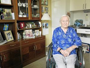 Viran Larsson 109 år.