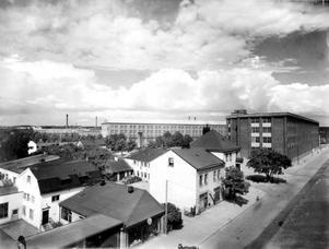 Stora gatan, Asea och kvarteret Arvid.