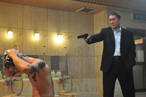 "Takeshi Kitanos nya film ""Outrage"" är en blodig historia.Foto: Nonstop Entertainment"