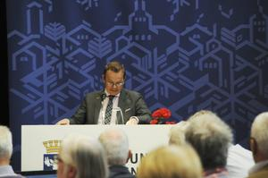 Pär Löfstrand (FP) tog strid för att kommunen skulle styra Jämtkraft att lägga ner försöken att bygga ut i Långforsen – och förlorade.