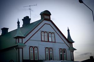 Ljusdal kanske inte räknas som stad officiellt men här finns många vackra byggnader som hör hemma i stadsmiljöer.