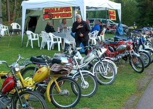 Hallsta Moppers var ett av de många gäng som under helgen sökt sig till Mellsta camping.