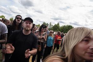 2017. Publik under Harcore Superstars uppträdande. Foto: Rickard Törnhjelm