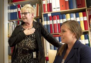 Mary Hägg och dottern Ylvali Gerling startar i sommar företaget som ska sälja det träningshjälpmedel som Mary utvecklat.