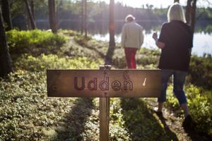 Ängratörn bjuder på vacker natur och utkiksplatser.