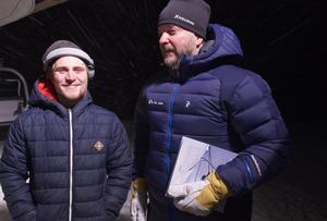 Hannes Nordlund och Peter Jonasson.