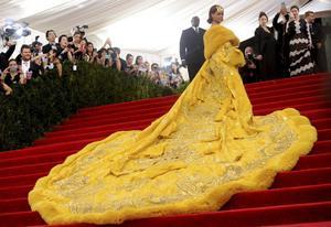 Rihanna på Met.