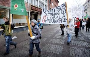 GLOBALT. Klimatmarscherade gjorde man inte bara i Gävle under lördagen. Det demonstrerades över hela världen.