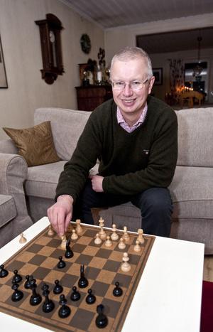 NY FACKBAS I SVERIGE? Jan-Henrik Sandberg har för tillfället semester och spenderar dagarna i bostaden i Gävle. Om han väljs till LO-ordförande hoppas han kunna bo kvar i staden.