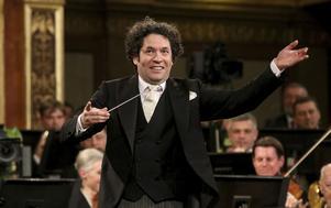 Gustavo Dudamels turné i USA ställs in. Arkivbild.