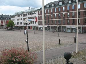 Samma vy från Rådhuset i dag.Foto: Örjan Hamrin