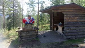 Rune Ivarsson menar att det känns väldigt tråkigt att man tvingas riva eldstaden på Byråsen.