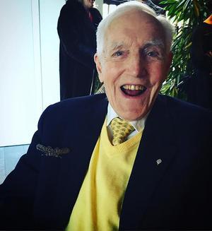 Knut Eklund 96 år.