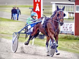 Ima Carisma och Per-Åke Holmsten avgjorde lätt, även om Holmsten hade haft lite problem att hålla Ima Carisma i trav.