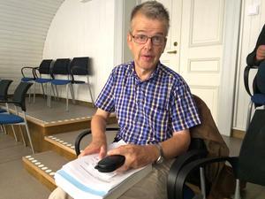Andreas Menzel följde debatten i landstingsfullmäktige på plats.