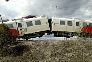 Järnvägskris. Krävs en kommission för att hindra att den svenska järnvägen kraschar?Foto: VLT:s arkiv