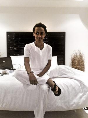 Det här är sista bilden anhöriga har på Elyas Eyob. Han åkte till Thailand i november och kom aldrig tillbaka till Sverige.
