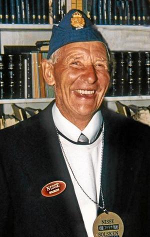 Solskens-Nisse Lindkvist fyller 90 år i dag.
